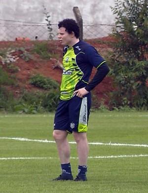 Cristiano, atacante da Caldense (Foto: Reprodução EPTV)