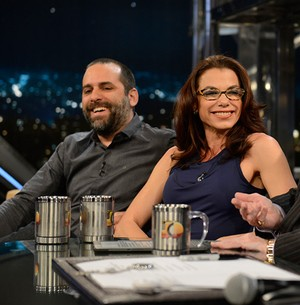 Casal cria um grupo de pesquisa em cinema (TV Globo/Programa do Jô)