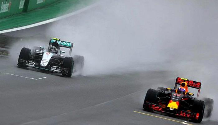 Max Verstappen Nico Rosberg GP do Brasil