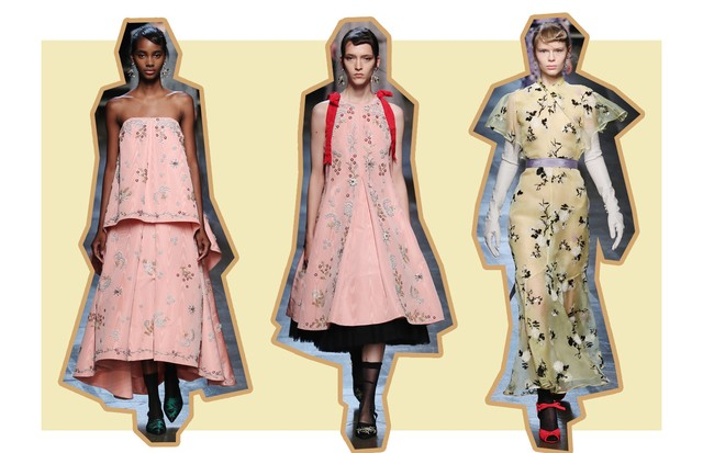 Tons Sorbet: Erdem (Foto: ImaxTree, Antonio Barros e Getty)