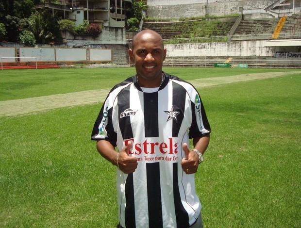 Marcelo Pelé, atacante do Estrela do Norte (Foto: Divulgação/Estrela do Norte FC)