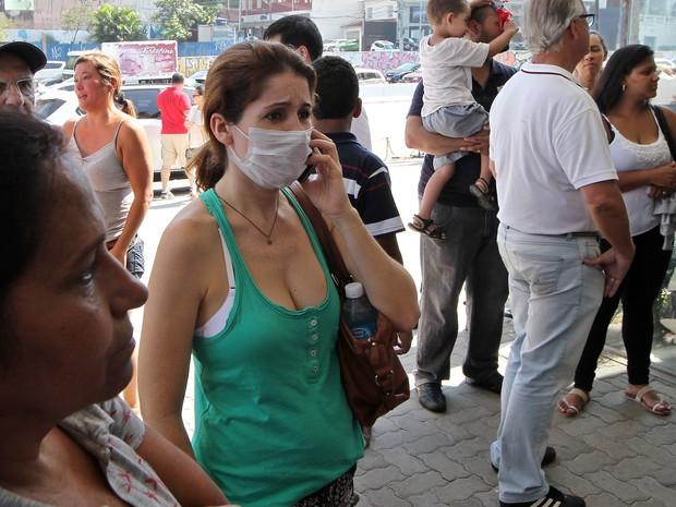 População busca vacina conbtra a gripe H1N1 em São Paulo (Foto: Sérgio Castro/Estadão Conteúdo)