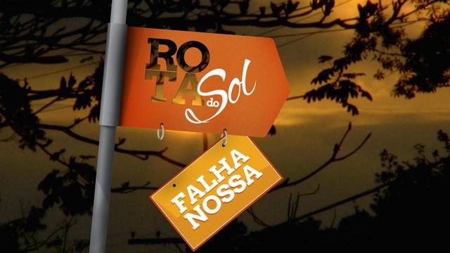 Quadro 'Falha Nossa' - Rota do Sol (Foto: Arte/TV Tribuna)