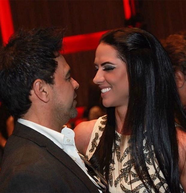 Zezé Di Camargo e Graciele Lacerda (Foto: Manuela Scarpa/Brazil News)