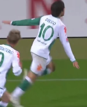 Diego Werder Bremen (Foto: Reprodução/SporTV)