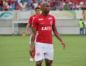 Flávio Boaventura - zagueiro do América-RN (Foto: Fabiano de Oliveira)