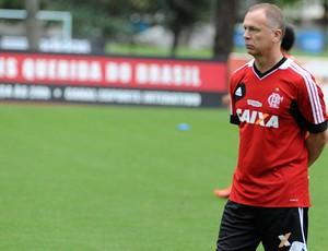Mano Menezes treino Flamengo (Foto: Alexandre Vidal/Fla Imagem)