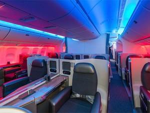 Primeira Classe de um Boeing 777 da American Airlines (Foto: PRNewsFoto/American Airlines)