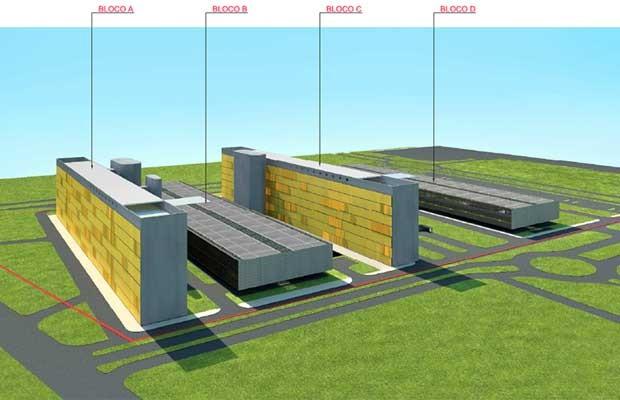 Projeto de novos prédios anexos da Câmara dos Deputados (Foto: Reprodução / Câmara dos Deputados)