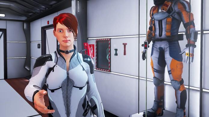 Uma das poucas personagens de Loading Human (Foto: Divulgação/Untold Games)