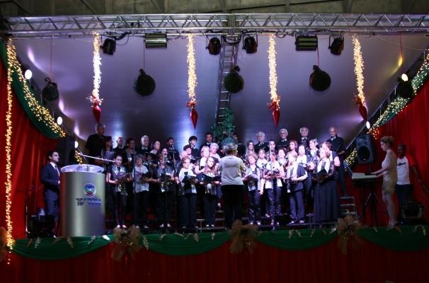 Temporada 2013 do Vozes de Natal encantou as famílias da região de cobertura da TV TEM (Foto: Arquivo / TV TEM)