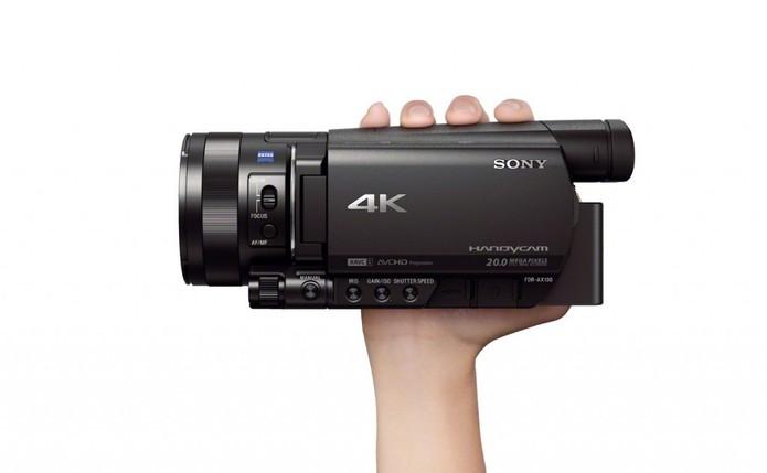 Ces 2014 Sony Lan 231 A Filmadora Compacta 4k E Update Na