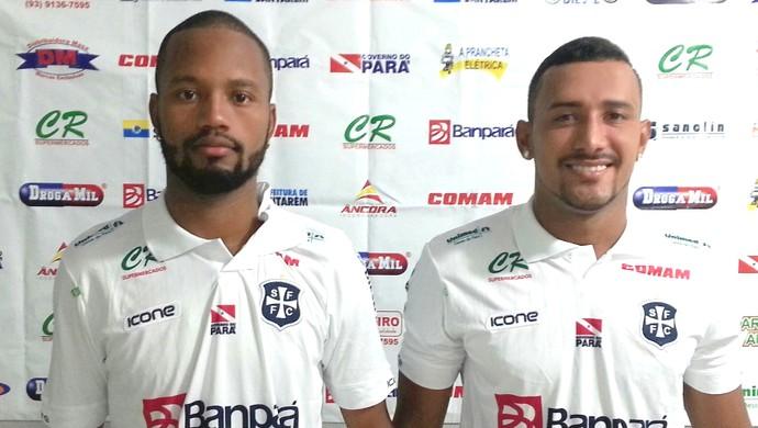 Guilherme e Luan, reforços do São Francisco (Foto: Divulgação/São Francisco Futebol Clube)