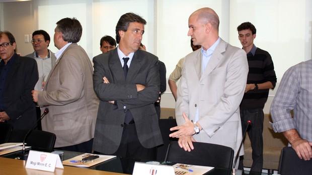 Gustavo Assed, presidente do Botafogo-SP (Foto: Cleber Akamine)