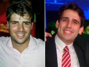 Irmãos, Tassio e Rafael Maia morreram vítimas do acidente na BR-304  (Foto: Arquivo pessoal)
