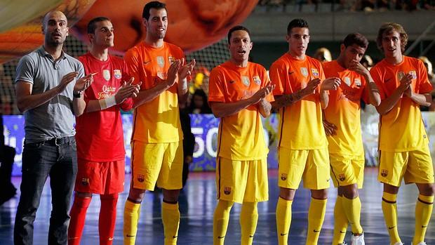 FUtsal barcelona guardiola (Foto: Agência Reuters)