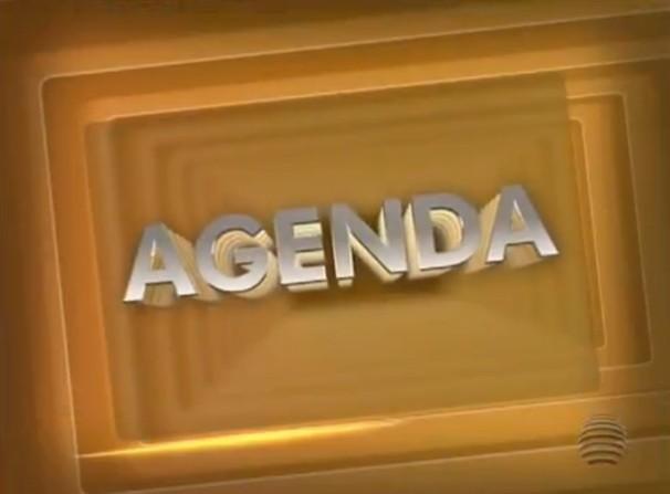 O quadro 'Agenda' é exibido semanalmente no SPTV 1ª Edição (Foto: Reprodução/TV Fronteira)