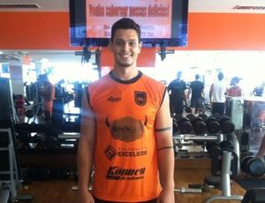 Willian Reffatti, de 27 anos, já treina com o grupo do Volta Redonda (Foto: Igor Bravo/Fair Play Assessoria)