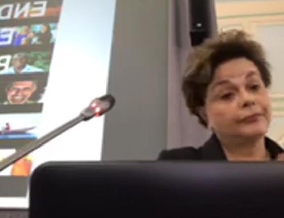 Dilma Rousseff na Rússia (Foto: Reprodução)