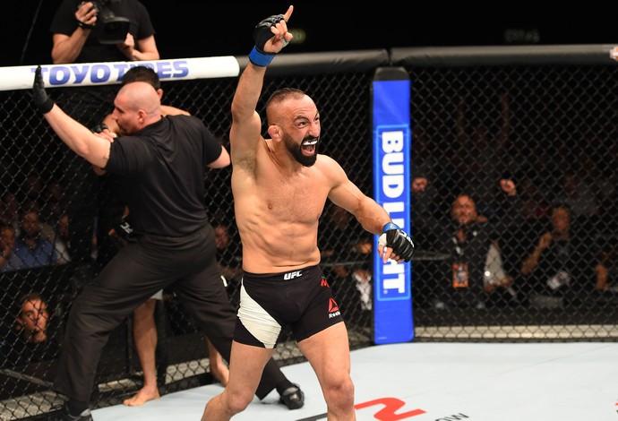 Reza Madadi UFC Holanda (Foto: Getty Images)