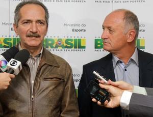 Luiz Felipe Scolari e Aldo Rebelo, Copa do Mundo, Felipão (Foto: Glauber Queiroz / ME)