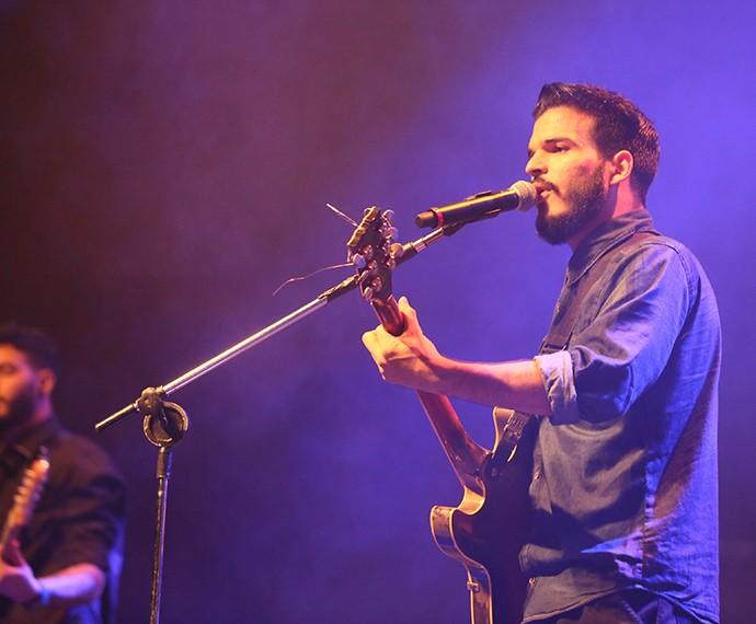 Versalle é a primeira banda a se apresentar no Festival (Foto: Isabella Pinheiro/Gshow)