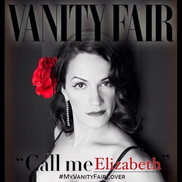 My Vanity Fair cover (Foto: Reprodução/ Instagram)