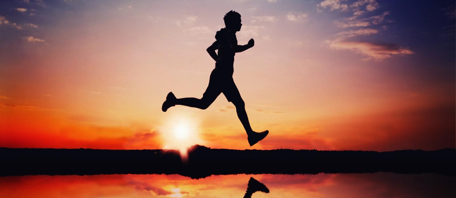 Correr é alegria (getty images)