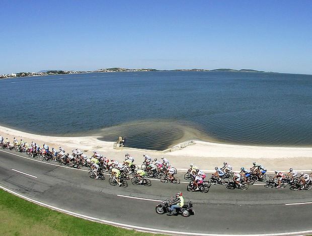 ciclismo Tour do Rio (Foto: Fotocom)