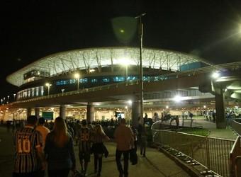 Arena recebe Grêmio x Goiás na noite desta quarta (Foto: Diego Guichard/GloboEsporte.com)