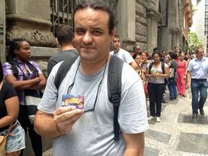 Cadastro de músico no site da SPTrans apresenta falha (Foto: Paulo Toledo Piza/G1)