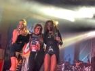 Anitta, Naldo e MC Ludmilla animam baile funk de Preta Gil