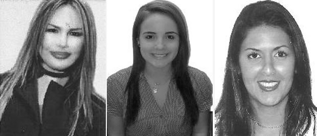 A partir da esquerda, Rosana, MC Brunninha e Elaine Marcondes. (Foto: Divulgação/TSE)