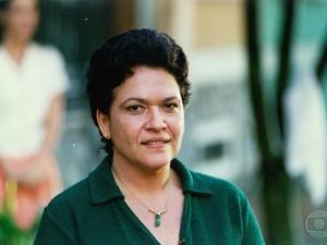 Regina Dourado em Anjo Mau (Foto: CEDOC / TVGLOBO)