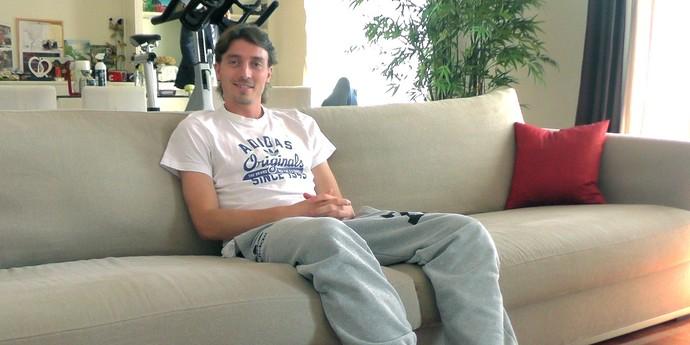 Montolivo em entrevista (Foto: Claudia Garcia)