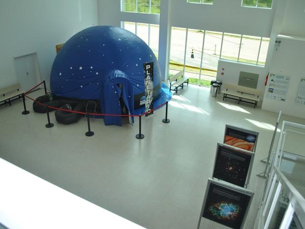 Planetário itajubá (Foto: Laboratório Nacional de Astrofísica/Divulgação)