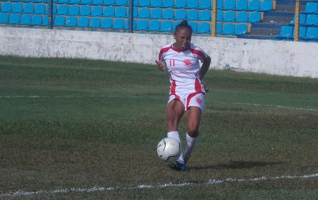 Corrêa, atacante do Internacional-MA (Foto: Bruno Alves)
