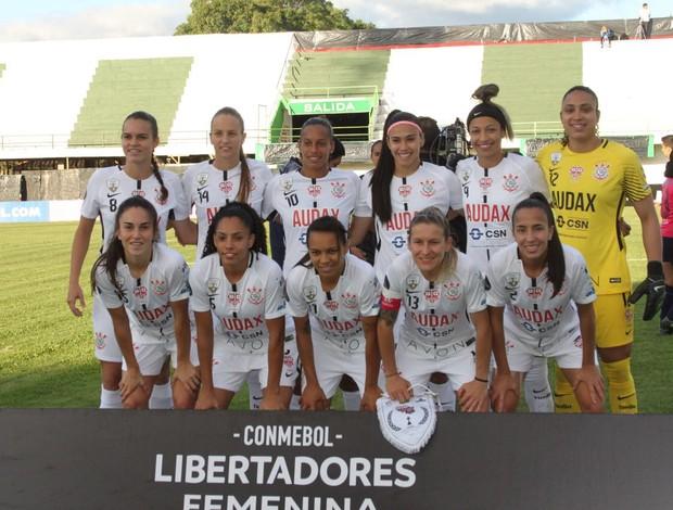 Corinthians contra o Deportivo Ita na Libertadores feminina