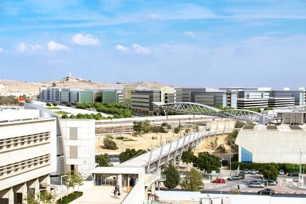 Polo de cibersegurança CyberSpark, localizado na cidade de Beersheva, sul de Israel