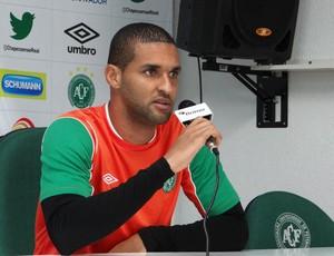 Zagueiro Dão Chapecense entrevista (Foto: Aguante Comunicação/Chapecoense)
