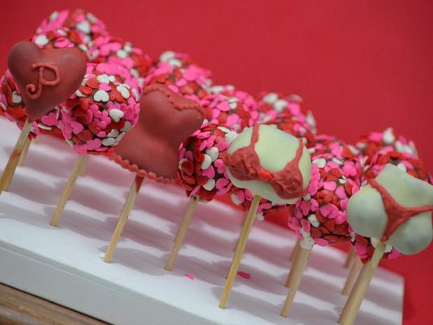 Pirulitos cakepop Juiz de Fora (Foto: Mariana Dahbar/Arquivo pessoal)