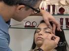 Especialista dá dicas de maquiagem para festa e para o dia a dia, em Goiás