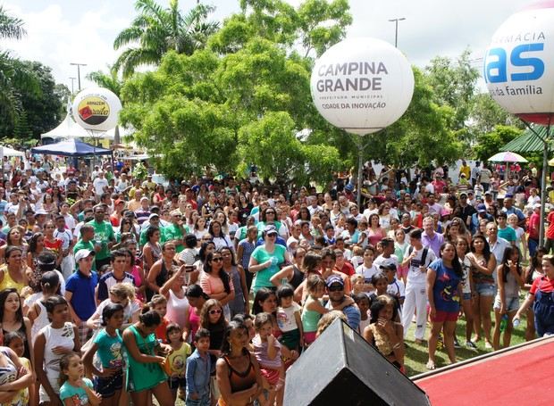 Domingo no Parque 2016 (Foto: Juliana Miranda/TV Cabo Branco)