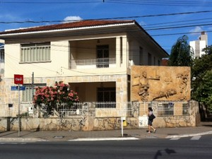 Casa de Colemar Natal e Silva, em Goiânia, Goiás (Foto: Luísa Gomes/G1)