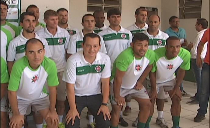 Tigre se apresenta pensando em conseguir o acesso par a Primeira Divisão do Mineiro  (Foto: Reprodução / Inter Tv dos Vales )