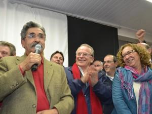 Olívio e Abigail serão os candidatos do PT gaúcho ao senado (Foto: José Luís Zasso/PT-RS)