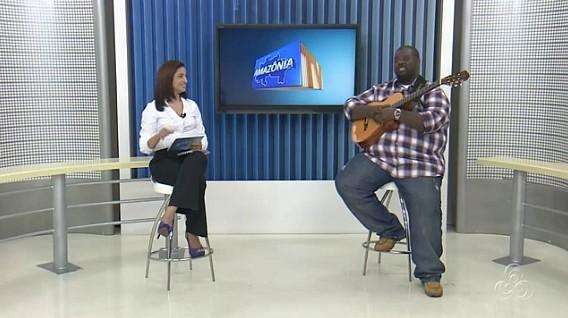 Agora em carreira solo, músico tem mostrado seu novo trabalho (Foto: Amazônia TV)