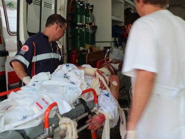 Rapaz de 23 anos morreu em Ribeirão Preto após sofrer graves ferimentos com explosão de garrafa com álcool (Foto: F.L. Piton/A Cidade)