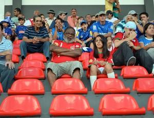 Boa Esporte e Cruzeiro se enfrentam no Estádio do Melão em Varginha (Foto: Lucas Soares/Globoesporte.com)