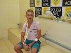 Jovem fura blitz da lei seca e é preso em Rio Branco